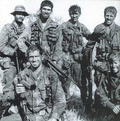 Aussie SAS (Special Forces) in Vietnam. - Vietnam War