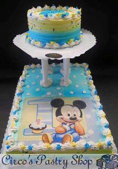 1St bday cake