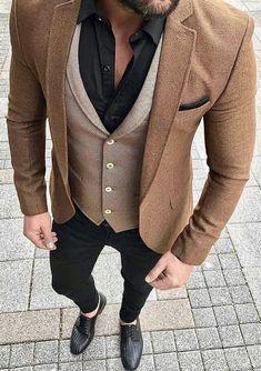 Vintage Tommy Hilfiger Wool Blazer Retro Jacket Men/'s Blazers Brown Coat Size EU 46 L Vintage Dandy Elegant wool blazer Button blazer