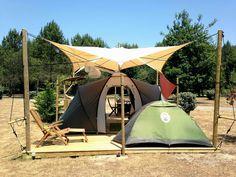Abritel Location Hebergement Insolite la Plateforme Lagon Contis Plage location bungalow Landes Côte d'Argent
