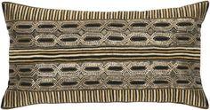 Mundo Metallic Decorative Pillow