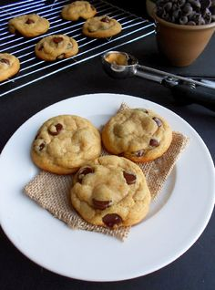 Culinary Couture: Perfect Coconut Oil Chocolate Chip Cookies