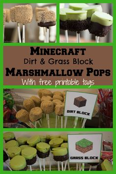 When we decided to throw another Minecraft birthday party we knew we were in for weeks of homemade decorations and party favors. The Minecraft Marshmallow Pops were one of the easiest and most deli…