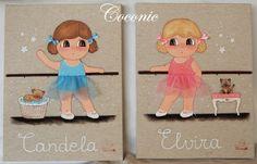1000 images about tableaux pour petits enfants on - Cuadros bailarinas infantiles ...
