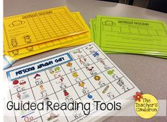 "The Teachers' Cauldron: Guided Reading ""Toolbox"" Linky!"