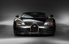 Visit The MACHINE Shop Café... ❤ Best of Bugatti @ MACHINE ❤ (La Calandre de la Bugatti Veyron Type 18 Black Bess Tribute Car)