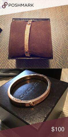 Mk rose gold bracelet Rose gold with tiny diamond studs Michael Kors Jewelry Bracelets