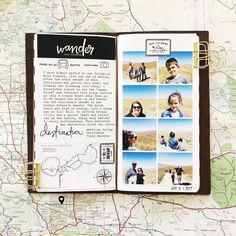 April Day 1: Travelers Notebook by mamaorrelli at Studio Calico