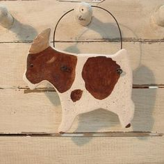 Goat Salt Dough Ornament / Gift for Goat Collector by cookiedoughcreations for $4.95