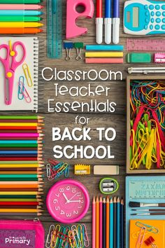 This list of 20+ back to school teacher must-haves includes supplies and resources for the first week of school, engaging activities to get to know your students, back to school books, classroom management ideas, and so much more! #backtoschool #b2s #teachermusthaves #classroommanagement #gettoknowyouactivities #backtoschoolbooks #firstweekofschool Back To School List, Back To School Teacher, School Classroom, First Day Of School, Classroom Decor, Back To School Activities, Classroom Activities, Classroom Organization, Classroom Management