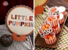 Little Pumpkin Baby Shower from A to Zebra Celebrations
