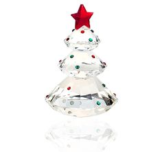 Crystal Christmas Tree Paper Weight Unique Christmas Gifts