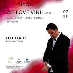 Hoje!!! @cirocvodka apresenta #WeLoveVinil #002  #Bossa #Jazz #Blues #Lounge @piporestaurante from 16h till late ...  #turntablism #tocadisco #djing #goodmusic #originalvinil #galeria by leoteruz http://ift.tt/1HNGVsC