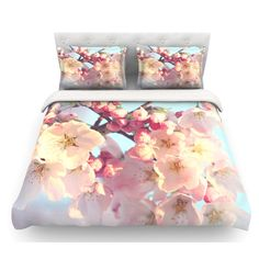 Found it at Wayfair - Waiting for Spring by Sylvia Cook Featherweight Duvet Cover