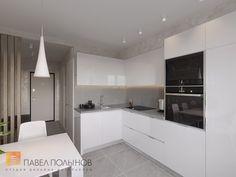 Фото кухня из проекта «Интерьер двухкомнатной квартиры 54 кв.м. в современном стиле»
