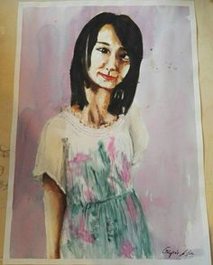 A beautiful painting by Lilla! #遼花 #haruka #painting #fanart