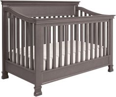 The Foothill Convertible Crib from Million Dollar Baby Classic features solid wood molding and graceful lines. Matching inset panels highlight this crib's base and backboard. The classic styling makes this a cherished crib for any nursery. Baby Room Themes, Baby Boy Rooms, Baby Boy Nurseries, Baby Cribs, Airplane Nursery, Nursery Crib, Star Themed Nursery, Prince Nursery, Baby Prince