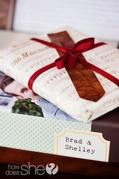 this is SUCH a cool idea for a gift! for our 10 year anniversary maybe?