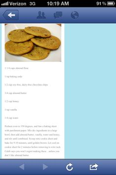 Paleo--made these the other day and then made them AGAIN!!! SO yummy!