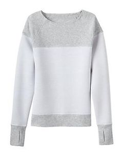 Fuse Sweatshirt - A modern take on the classic crewneck sweatshirt with structured FUSE fabric.