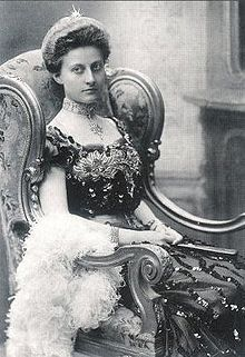 Princess Feodora of Saxe-Meiningen (1879--1945), only child of Princess Charlotte of Prussia and Queen Victoria's 1st great-grandchild.