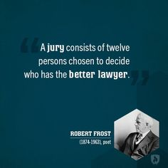 Wise words from Robert Frost #lawyer #quotes
