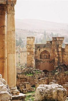 Heliopolis (Baalbek) Lebanon - Roman ruins