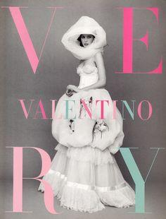 Christy Turlington for Very Valentino
