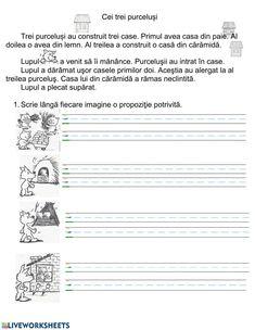 Știm să citim! worksheet Math School, School Subjects, Your Teacher, Google Classroom, 4 Kids, Minion, Colorful Backgrounds, Worksheets, Texts