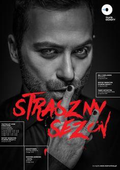 """poster """"Straszny sezon"""" fot. Tomasz Słupski"""