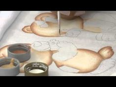 Mulher.com - 07/11/2014 - Pintura no Pique por Filo Frigo - Parte 1 - YouTube