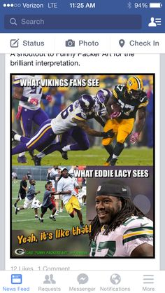 Lol Packers!