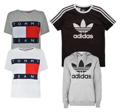 """""""Untitled #22"""" by teja-06 on Polyvore featuring Tommy Hilfiger, adidas Originals and adidas"""