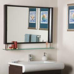 Decor Wonderland New Amsterdam Wall Mirror (LL guest bath)