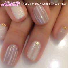 Stripe design with lame ♡ Takeshi Kobashi
