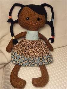 My Girl's Curls: Calico Rag Dolls