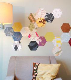 Buchstaben & Schriftzüge - PAPER-DO // selbstklebende Tapeten- Wanddekoration - ein Designerstück von madeinosnabrueck bei DaWanda