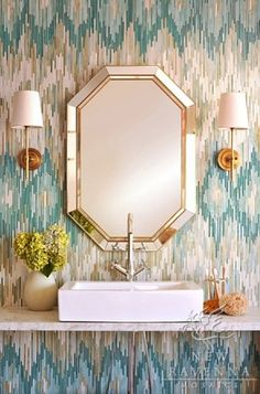 Is this tile or wallpaper? Love the pattern, but would not like the cost of tile. Thank you. - Houzz
