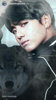 Werewolf jungkook Artist:IG|mydarlingkookie
