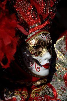 Venetian Carnival #Masks #venetianmask #masquerade http://www.pinterest.com/TheHitman14/art-venetian-masks-%2B/