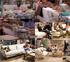I want Monica's white couch from Friends