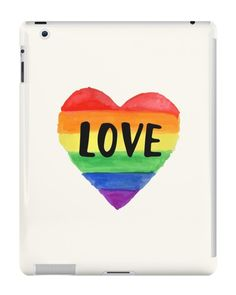 Our Love - Pride iPad Case is available online now for just £9.99.    Check out our super cute Love - Pride iPad case, available for iPad, iPad Mini & iPad Air    Material: Plastic, Production Method: Printed, Weight: 28g, Thickness: 12mm, Colour Sides: Clear, Compatible With: iPad 2   iPad 3   iPad 4   iPad Air   iPad Mini   iPad Mini 2, Features: Slim fitting one-piece clip-on case that allows full access to all device ports. This iPad case is extremely durable, shatterproof casing with su