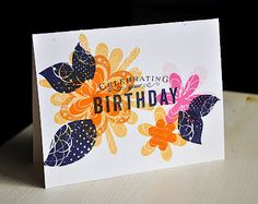 Card by Maile Belles for Papertrey Ink (February 2012).