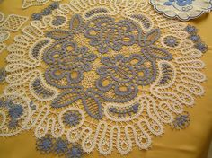 Bruges tape lace crochet - inspiration