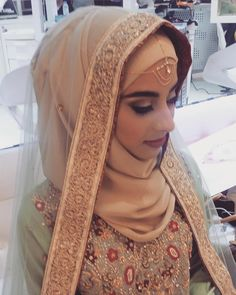 """44 Likes, 1 Comments - Hijab Clinic (@hijabclinic) on Instagram: """"You know- you don't need much to look beautiful on your wedding day! a kind heart and a beautiful…"""""""