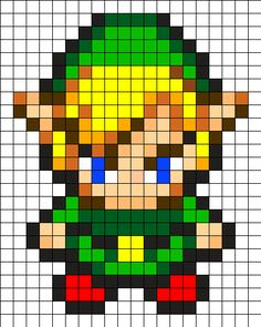 Link Perler Bead Pattern