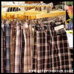 Men's Plaid Shorts - Found at the OFFPRICE Show for up to 70% below wholesale prices. www.offpriceshow.com