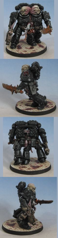 siamese twins chaos space marine (hellraiser inspired)