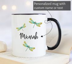 Best Friend Mug, Friend Mugs, Best Friend Gifts, Gifts For Friends, Personalised Name Mugs, Personalized Coffee Mugs, Grandma Mug, Grandmother Gifts, Youre My Person Mug