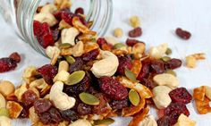Aurora Organic Nuts n Berries...delicious trail mix with coconut!